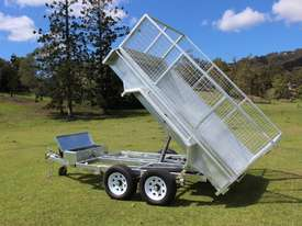 Ozzi 10x6 Hydraulic Tipper Trailer - picture14' - Click to enlarge
