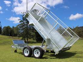 Ozzi 10x6 Hydraulic Tipper Trailer - picture15' - Click to enlarge