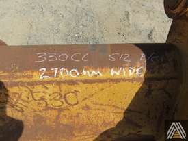 330CL 2700MM BATTER BUCKET - picture2' - Click to enlarge