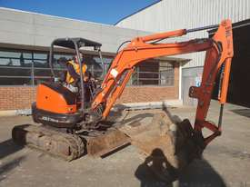 USED 2013 KUBOTA U35-3 EXCAVATOR WITH QUICK HITCH AND 4 BUCKETS - picture2' - Click to enlarge