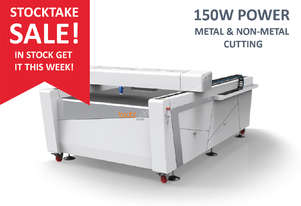 SALE - METAL AND NON-METAL 150W CO2 machine