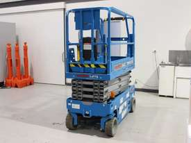 2014 Model Genie GS1932 � 19? Narrow Electric Scissor Lift - picture2' - Click to enlarge