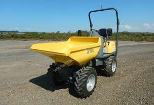 2015 Wacker Neuson 1601H High Tip Site Dumper