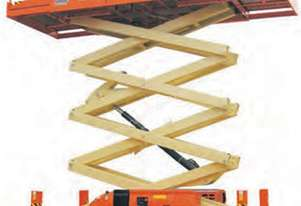 15m Diesel Scissor Lifts available for Hire