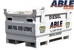 Able Fuel Cube Bunded 450 Litre (Safe Fill 420 Litre)