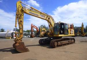 2009 Komatsu PC270LC-8 Steel Tracked Enclosed Cabin Excavator (EX26) - In Auction