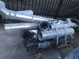 Pulse Dust Extractor with ducting - picture2' - Click to enlarge