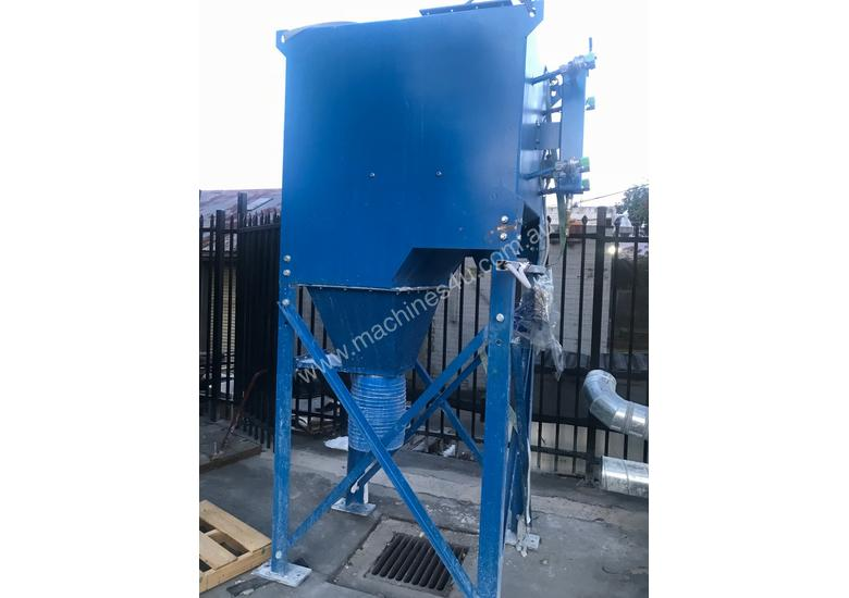 Pulse Dust Extractor with ducting