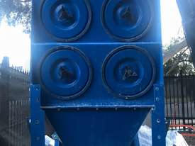 Pulse Dust Extractor with ducting - picture1' - Click to enlarge