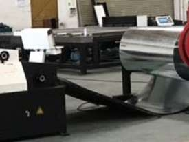 Heavy Duty Twin Mandrel Decoilers 1600mm Wide  - Powered Volt - picture1' - Click to enlarge