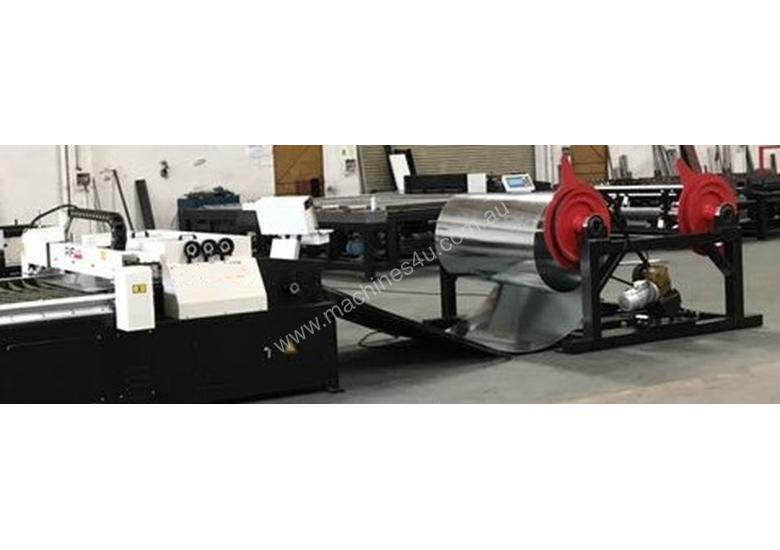 Heavy Duty Twin Mandrel Decoilers 1600mm Wide  - Powered Volt