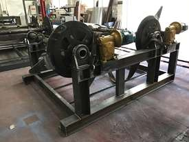 Heavy Duty Twin Mandrel Decoilers 1600mm Wide  - Powered Volt - picture3' - Click to enlarge