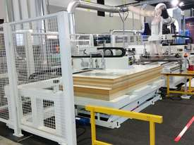 NANXING Auto Labeling Auto Loading & Unloading Flatbed Nesting CNC Machine NCG2512L - picture3' - Click to enlarge