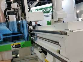 NANXING Auto Labeling Auto Loading & Unloading Flatbed Nesting CNC Machine NCG2512L - picture15' - Click to enlarge