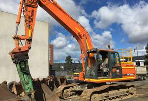 Doosan DX225 Excavator with Auto Grease
