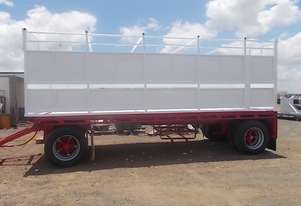 Gte   Dog Curtainsider Trailer