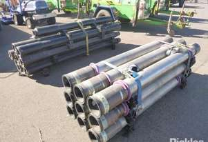 16 x Lengths of Unused Weatherford 7inch x 10FT Blank Pup Joints - (PUP, 10FT JT, 7inch, 29#, LH, VA