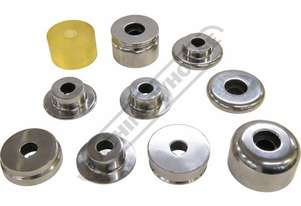 MBR-10K Forming Bead Roller Kit 9 x Forming Bead Rollers + 1 x Polyurethane Roller Suits MBR-610 & M