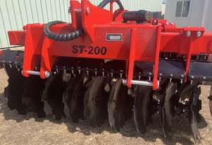 ROCCA ST-200 Heavy Duty SupaTill Tillage Cultivator Disc Harrow 16  Discs