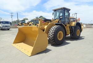 2016 Caterpillar 966M Wheel Loader