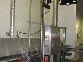 Tunnel Pasteuriser/cooler Stainless steel 7.3m long - picture0' - Click to enlarge