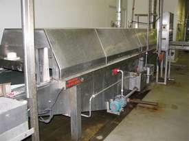 Tunnel Pasteuriser/cooler Stainless steel 7.3m long - picture2' - Click to enlarge