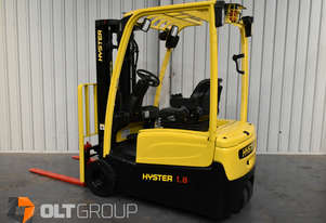 Hyster J1.8XNT Battery Electric Forklift Container Mast 4 Functions 2013 Model 4.6m Lift Height
