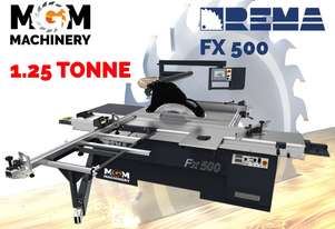 Rema FX 500 Panel Saw From Poland - This machine is old school tough.