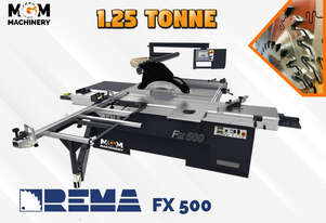 Download PDF For Pricing: Rema FX 500 Panel Saw From Poland - This machine is old school tough.