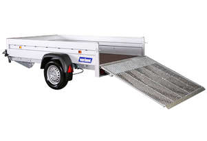 Variant F1 MR 1304 - Box Trailer With Ramp (8x5 ft)