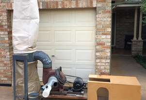 Custom Made Woodworking Dust Extractor