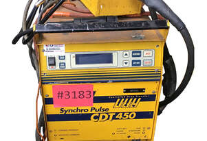 WIA Synchro Pulse CDT450 complete with wirefeeder