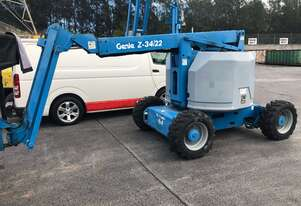 Genie Z34IC - 34ft Rough Terrain Knuckle Boom Lift - Multiple Available - Call Today