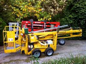 Leguan 125 Spider Lift for hire.  - picture0' - Click to enlarge