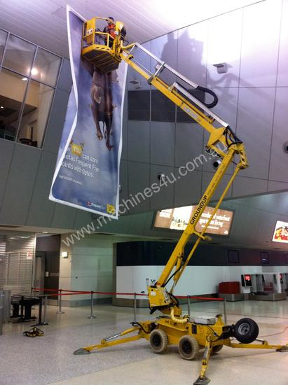 Leguan 125 Spider Lift for hire.