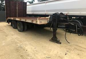 Trailer Tag Trailer Howard Porter Ramps And Winch 8RU260 SN939