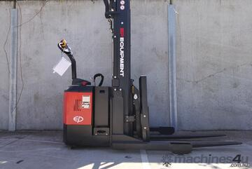 Brand   EP CQE15S Electric Walkie Reach Stacker In Stock READY TO GO!