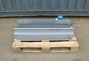Short Motorised Belt Conveyor - 1.1m long