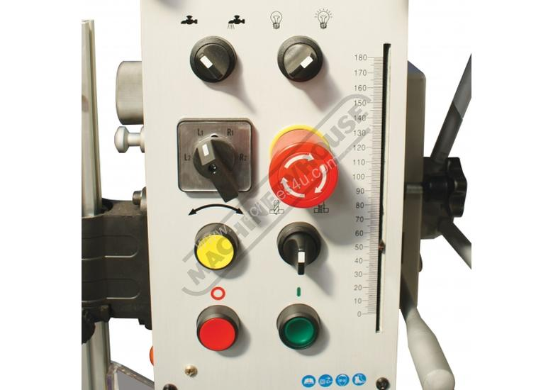 GHD-38B Industrial 4MT Geared Head Drilling Machine 40mm Drilling Capacity Includes Automatic Feed &