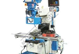 BM-40V Turret Milling Machine (X) 860mm (Y) 360mm (Z) 425mm Includes Digital Readout, Vice & Clamp K