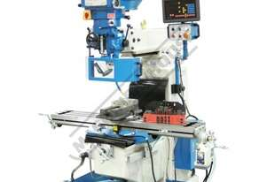 BM-40V Industrial Turret Milling Machine Table Travel: (X) - 860mm (Y) - 360mm (Z) - 425mm Includes