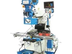 BM-40V Turret Milling Machine (X) 860mm (Y) 360mm (Z) 425mm Includes Digital Readout, Vice & Clamp K - picture0' - Click to enlarge