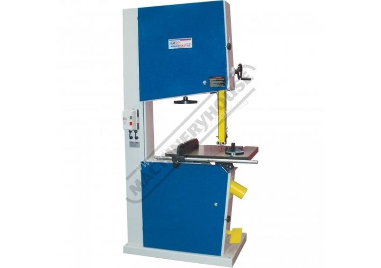 BP-630 Wood Band Saw 615mm throat x 370mm Height Capacity