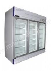 Anvil GDJ1880 Triple Glass Door Upright Fridge(161