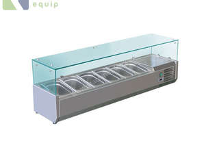 BAIN MARIE, 6 X 1/3 GN TRAYS NOT INCLUDED VRX-1400