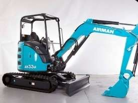 2020 NEW AIRMAN AX33U-6 EXCAVATOR : 3.1 ton canopy model - picture0' - Click to enlarge
