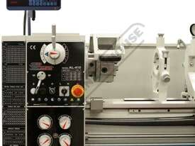 AL-410 Centre Lathe 400 x 1000mm Turning Capacity - 52mm Spindle Bore Includes Digital Readout & Qui - picture8' - Click to enlarge