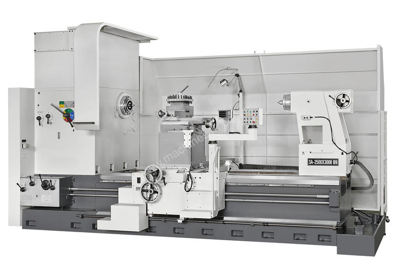 Everturn Big Swing Lathe, hp to � 2500mm over the Bed