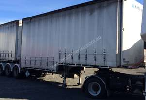 2009 Krueger 34 Pallet B/Double Curtainsiders, c/w