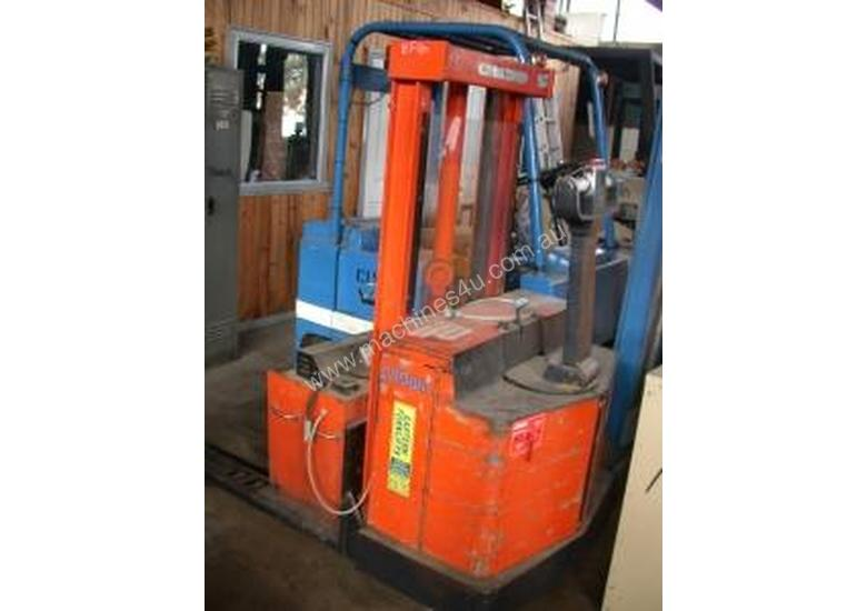 Crown 1.5 Ton Electric Walkie Stacker Forklift